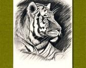 ATC ACEO Tiger