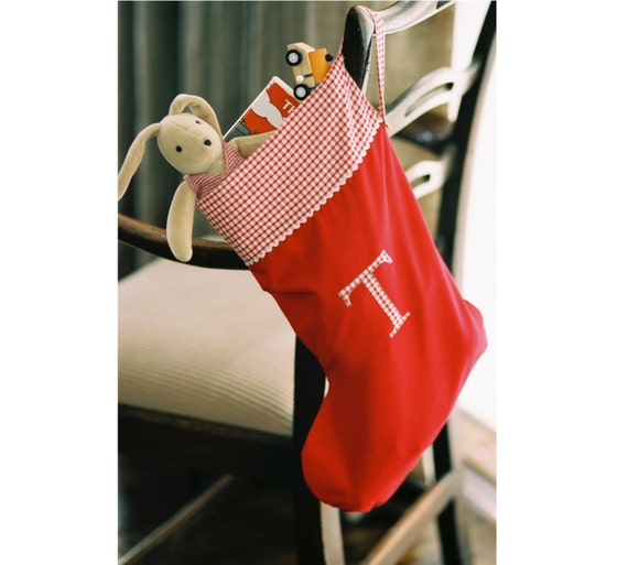 Christmas Stocking PDF Pattern by Townmouse on Etsy