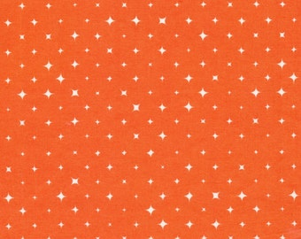 Cloud9 We Are All Stars Bloom Orange Organic Cotton Fabric