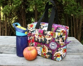 Wonder Woman Lunch Bag Lunch Box Insulated Zipper Ready To Ship