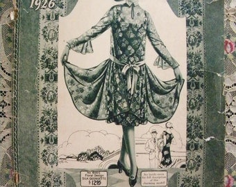 1926 Catalog for Hamilton Garment Company New York Flapper Styles for Spring and Summer