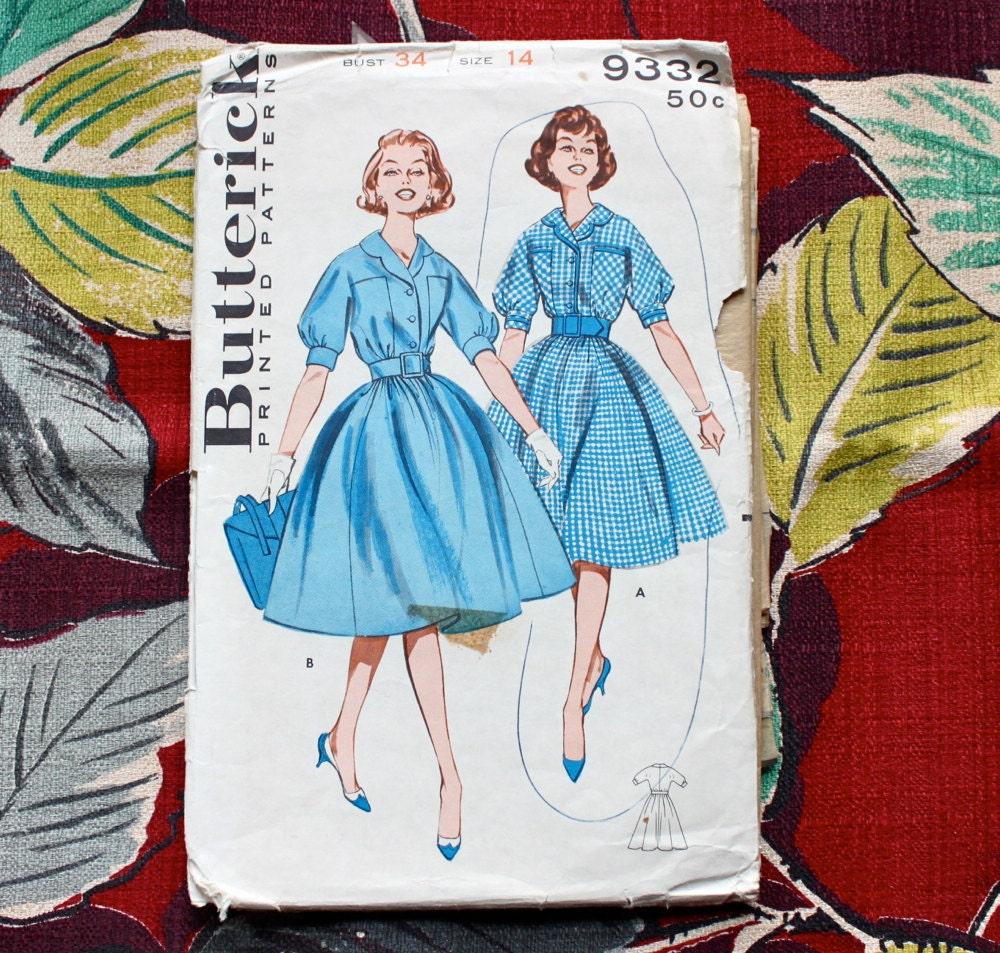 Simplicity Schnittmuster 7805 Vintage-Kleid und Mantel