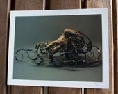 A Mechanism of Character (Octopus) - Original Giclee Limited Edition Print - 8.5x11""