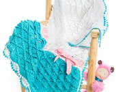 EAP CROCHET PATTERN Candy Clouds Baby Blanket/Any Size Throw Ebook Crochet Pattern in Pdf Instant Download