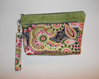 Purse Wristlet with Strap