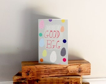 SALE: You're a GOOD EGG card cc172