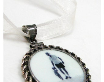Bridal Bouquet Charm with Interchangeable Photo Tiles -  - CPF