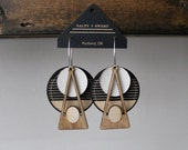 Laser cut earring | DECO: Natural B