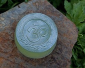 Om soap in light jade - yoga meditation mantra om