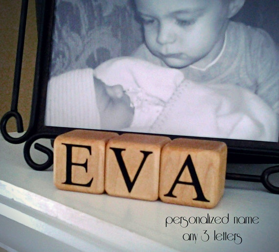 Reserved for Kathie - PERSONALIZED BABY BLOCKS First Birthday Personalized Baptism Gifts Baby Dedication Gift Christening Gift New Baby Gift