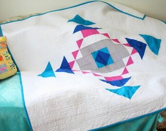 Sample Sale  Modern Quilt featured in LP&Q magazine
