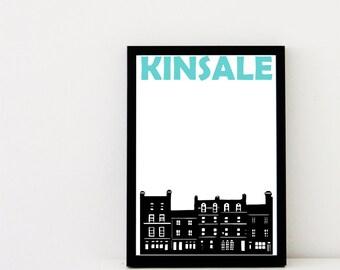 Kinsale Print // Art Print Ireland