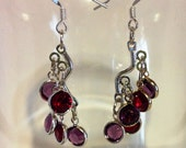 Crystal Cascade Earrings