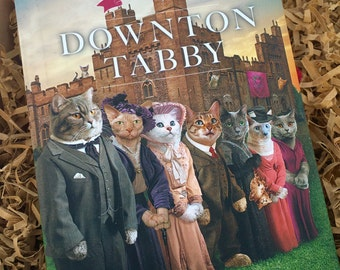 Downton Abbey,  Downtown Tabby Cat Lover's Book, Cat Toys, Marvelous Melissa, Three Blind Mice,  Ready to Ship