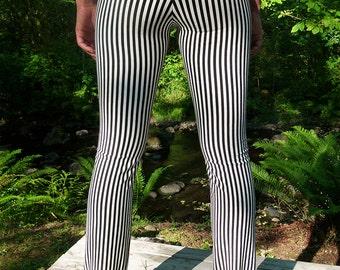Straight Leg Stripe Pants