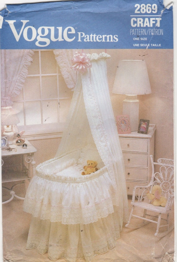 Bassinet Skirt Pattern 94