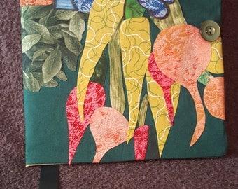 Fabric Covered Journal, Notebook, Diary, Garden Journal