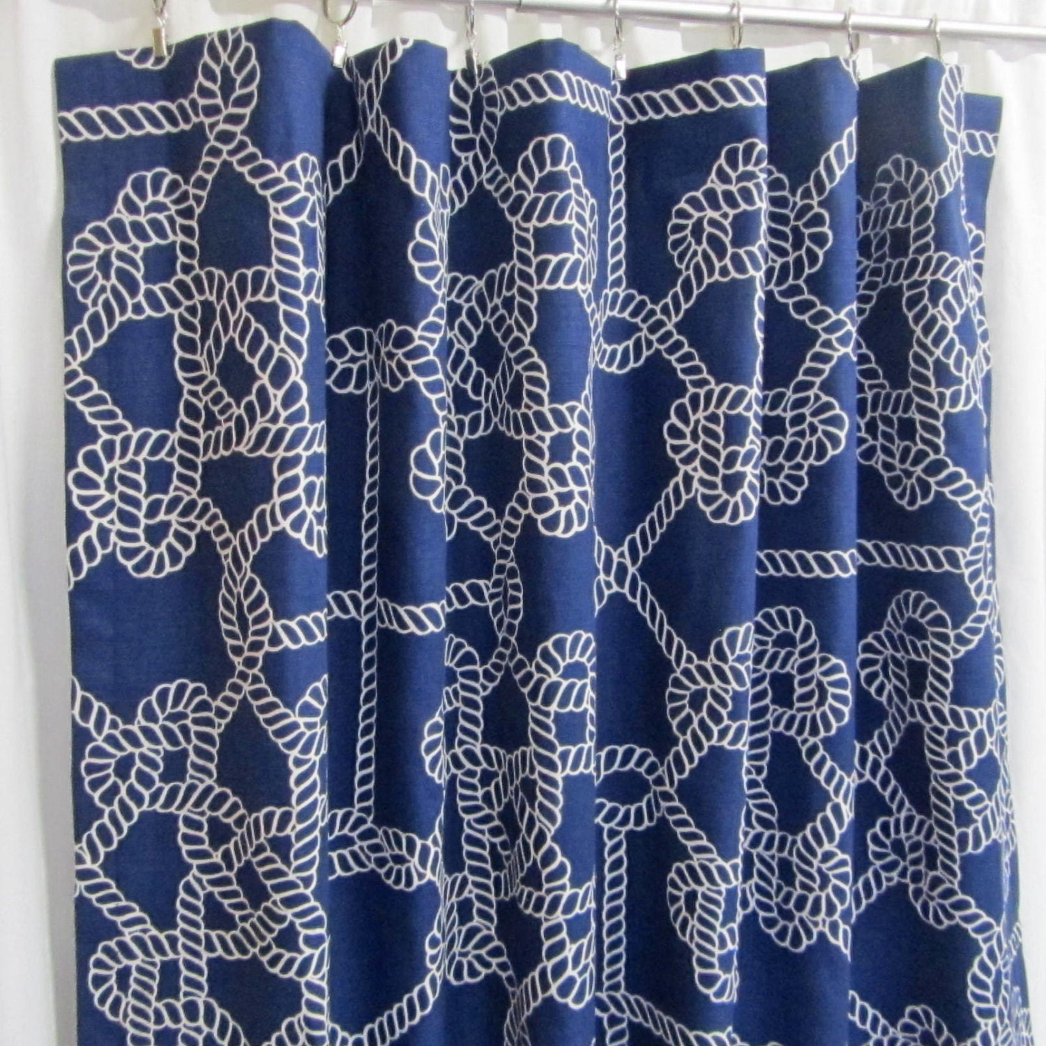 of curtain stripe navy blue full dark nautical floral shower living light and black curtains white window room for size drapes