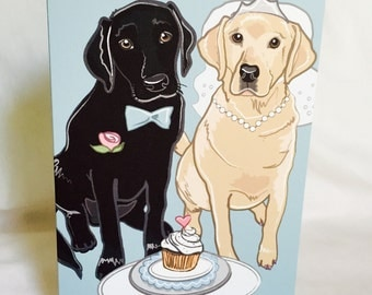 Wedding Labs - Greeting Card