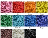 "16ga 1/4"" Rubber O-Rings Multi-Color Kit (1.7mm x 6.4mm)"