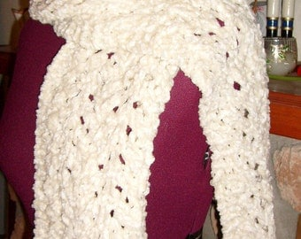 Lacy Chenille Scarf