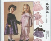 McCall's 4254 - Toddlers' Dresses, Tops, Pants and Headband - Size 1-2-3-4 - Uncut Pattern