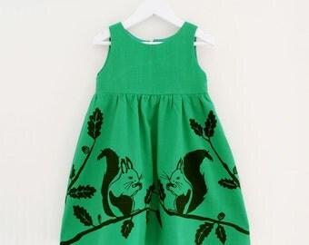 Girl's Squirrel Dress