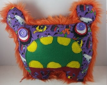 Plush Zombie Critter Pillow Cramps
