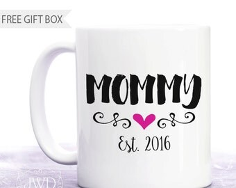 First Time Mom Gift Mothers Day Gift for Her New Mommy Gift First Mothers Day Mug Gift for Wife Personalized Coffee Mug #CM554