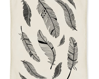 Feathers Kitchen Towel