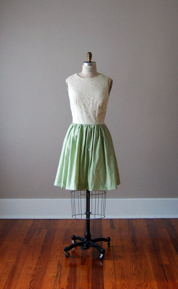 Cotton and Lace Bridesmaid Dresses for Your Wedding in Mix and Match Styles and Colors Green Tea Mint