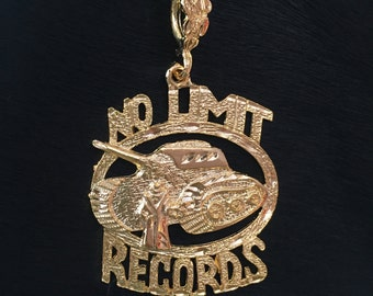 90s NO LIMIT Records Master P Gold Plated Pendant ONLY