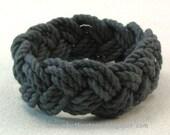 midnight blue knot bracelet turks head knot nautical sailor bracelet rope jewelry fisherman bracelet 3676