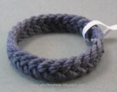 navy herringbone rope bracelet sailor knot bracelet turks head bracelet armband rope jewelry 3705