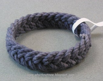 navy herringbone rope bracelet sailor knot bracelet turks head bracelet armband rope jewelry 3705