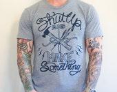 unisex make something t-shirt sizes xs, s, m, l, 2xl
