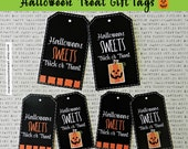 Halloween Treat Tags-Teacher Appreciation, You've Been Booed, Classroom Treats Etc Two Sizes
