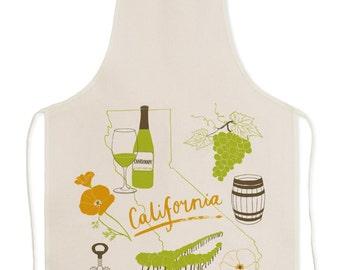 California Wine Apron