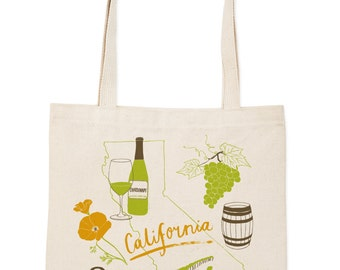 California Wine Everyday Tote