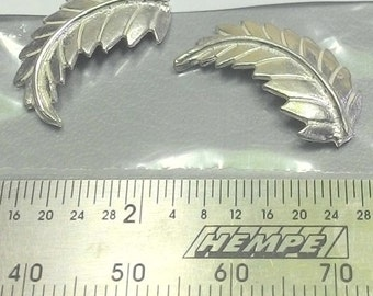 22mm long ~ Sterling Silver Cast Leaves / Leaf for Soldering projects ~ To Be ORDERED for you ~ L25 ~ FDK