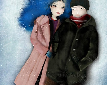 Eternal Sunshine Of The Spotless Mind - open edition print
