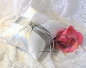 Ring Bearer Pillow Bling Ring Bearer Pillow Rhinestone Ring Bearer Pillow Cheap Ring Bearer Pillow Romantic Wedding Pillow Color Choice
