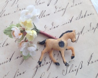 Itty Bitty Pony, Horse, Equine, Miniature Toy Plastic Mold
