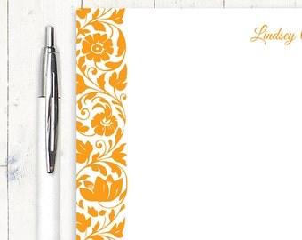 personalized notePAD - LOVELY LINDSEY - womens stationery - stationery - stationary
