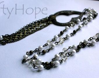 Deco Fringe Necklace