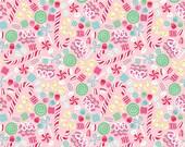 Christmas Candy Pink - Sugar Rush Fabric - Blend Fabrics Cotton 1 yard - Cotton Fabric - Christmas Candy Fabric - Pink Christmas Fabric