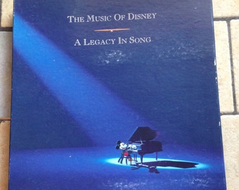 1992 The Music of Disney Tapes and Book