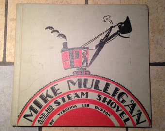 1967 Mike Mulligan and His Steam Shovel Children's Book