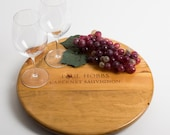 "Paul Hobbs Wine Crate featured on our 16"" Lazy Susan"