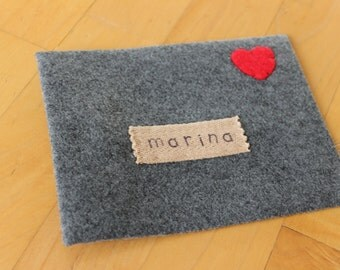 Large Felt Love Note Envelope